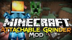 The Attachable Grinder Mod for Minecraft 1.11 and 1.10.2 permits you to put a miniature grinder on 6 completely different mobs: Pigs, Cows, Chickens, Creep