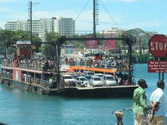 Likoni ferry... Always an experience!
