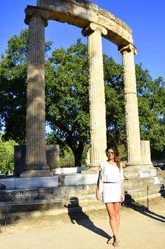katakolon, zeus temple, templo de zeus, zeus, grécia, greece