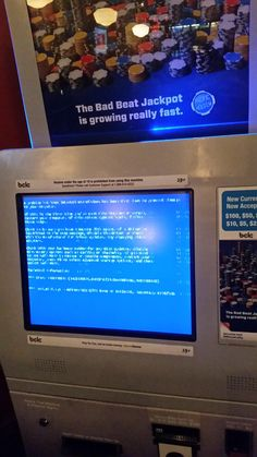 I guess wont be playing keno tonight. #bsod #pbsod