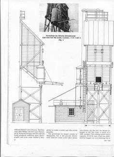 Coaling Tower Plans | Railroad Line Forums - Coal tower plans