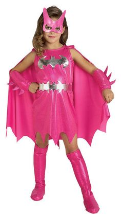 Lasten Naamiaisasu; Batgirl Deluxe  Lisensoitu Batman Batgirl asu. Tässä kauniissa pinkissä asussa tytöt muuttuvat hetkessä Gothamin sankareiksi. Siinä on Batmankin ihmeissään kun Batgirl laittaa hihat heilumaan. #naamiaismaailma