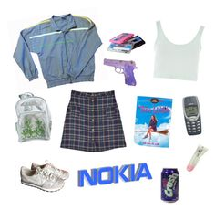 """""""it's the 21st century, mom!"""" by postemochronicles ❤ liked on Polyvore featuring CASSETTE, Topshop and NIKE"""