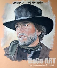 Pastel portrait from photo with a glass frame check it by DaGoART