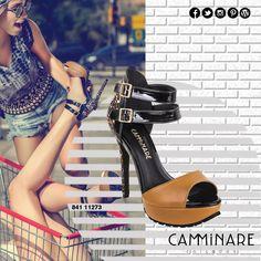 Salto alto é poder!  Então hoje a noite, aposte no poder do salto alto animal print com sola tratorada da Camminare! ❤️#camminare #shoes #love #moda #mulheres #fashion #streetstyle #style #bestfriends #sola #tratorada