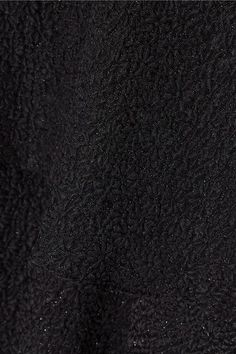 Paul & Joe - Florenti Tiered Silk-blend Cloqué Mini Dress - Black - FR38