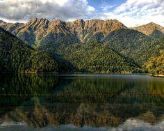 Lake Ritsa, Abkhazia   Georgia (Country)   საქართველო