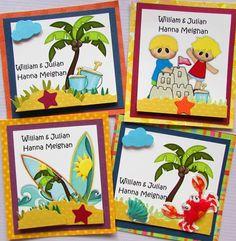 Tarjetas de presentación para niños Facebook Crafts by Iris  @craftsbyiris