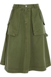 Marc by Marc JacobsFlared cotton skirt