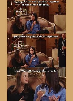 lolol oh i'll never get tired of gilmore girls <3