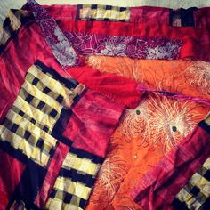 """""""From my private collection- #vintage #reconstructed #skirt #Japan"""""""