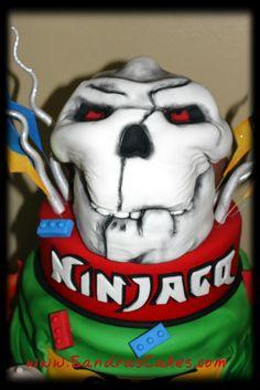 Sandra's Cakes: Ninjago Birthday Cake