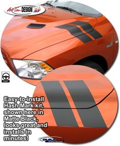 Vehicle Specific Graphic kits for Dodge Ram that are Precut and ready to install.