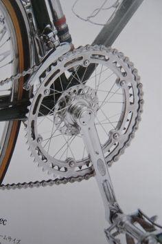 wwwwaaaaaaaaaatttttt? spoked chainring? thats bad ass. (via Fairwheel Bicycles)