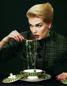 Mmmmmm. Jewellery for dinner!