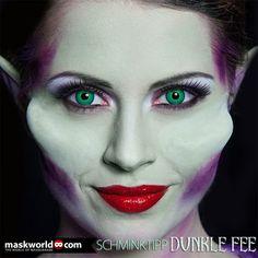 maskworld.com Schminktipp Dunkle Fee - ein Maleficent Make-up Tutorial!