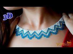 Takı Yapılışı-Cam Boncuktan Kolye Yapılışı - YouTube
