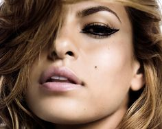 Eva Mendes can most likely assign her stunning dark looks and luxurious  lips to her Cuban descent. Description from eventsandgossips.blogspot.com. I searched for this on bing.com/images