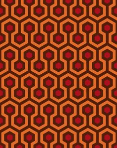 Overlook Hotel Carpet Pattern - MUST MAKE A QUILT OUT OF THIS!