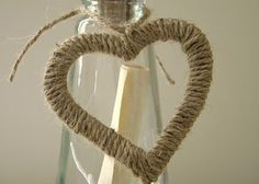 Twine heart tiny wreath