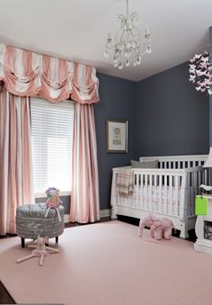 The most elegant baby room. LOVE!!