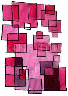 Kids Artists: Monochromatic painting & 227 best Art Lesson Ideas: Monochrome images on Pinterest   Visual ...