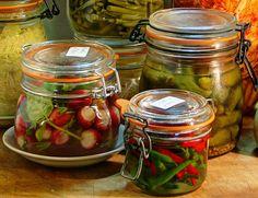 Comment fermenter les légumes entiers ou en morceaux – Ni Cru Ni Cuit No Salt Recipes, Raw Food Recipes, Antipasto, Tsukemono, Ni Cru Ni Cuit, Food Change, Piccalilli, Home Canning, Nutrition