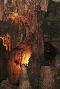 Diamond Caverns. Cave City, Kentucky. Stay at the Wigwam Village Motel and visit Mammoth Caves.
