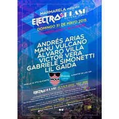 Este domingo en MOLA CLUB tendremos la presentación del festival ElectroSplash2015 ✨ #MolaMarmarela #MolaElectroSplash