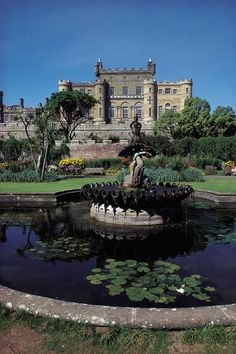 Culzean Castle, Ayrshire, Scotland, built in 1777, seat of the clan Kennedy
