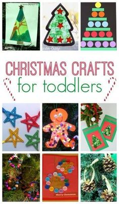 101 Christmas Crafts for Kids - toddler crafts Christmas Arts And Crafts, Christmas Crafts For Kids To Make, Childrens Christmas, Preschool Christmas, Toddler Christmas, Christmas Activities, Baby Crafts, Toddler Crafts, Christmas Projects