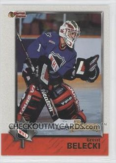 Brent Belecki Hockey Players, Baseball Cards, Tinkerbell