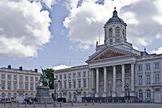 Sint-Jacob-op-Coudenbergkerk, Koningsplein in Brussel / Eglise Saint-Jacques sur Coudenberg, place Royale à Bruxelles (foto/photo : A. de Ville de Goyet, GOB/SPRB)