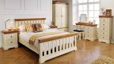 Oak And Cream Bedroom Furniture parts can add a touch of style and design to any home. Oak And Cream Bedroom Furniture can imply many things to many individuals… Oak Bedroom Furniture Sets, Wooden Bedroom, Bed Furniture, Cream Furniture, Bedroom Rugs, Pine Furniture, Outdoor Furniture, Furniture Stores, Rustic Furniture