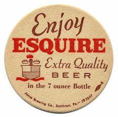 Enjoy Esquire Extra Quality Beer