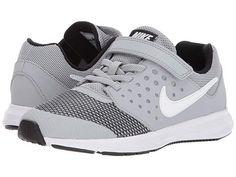 c3b827f9f3bb9 Nike Kids Downshifter 7 (Little Kid) (Wolf Grey White Black Boys Shoes