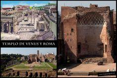 Templo de Venus y Roma • Foro Romano • Roma