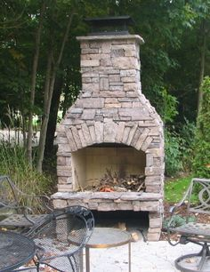 Outdoor Fireplace Kits For The Diyer Shine Your Light Stone Age Manufacturing