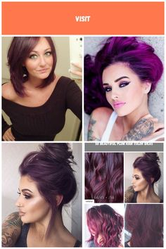 Dark Plum hair. Reverse Bob. #Hair #Hairstyle #Hairstylist #HairGoals #HairCut #HairColor #InstaHair #HairCare #HairDo #Blonde #Brunette #CurlyHair #StraightHair #HairOfTheDay #HairIdeas plum hair Dark Plum Hair, Reverse Bob, Blonde Brunette, Hair Goals, Haircolor, Straight Hairstyles, Curly Hair Styles, Hair Care, Beer