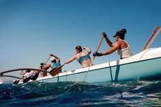 i did outrigger canoeing in high school, definitely got me into the best shape of my life.