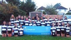 Cuff & Gough Girls Rugby Team Strike a Pose for New Team Photo