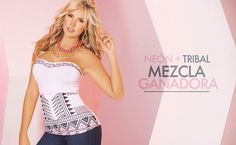 Neón + Tribal: Mezcla Ganadora! #EtnicFolk #Dama