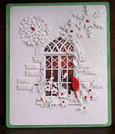 Voorbeeldkaart - filigraan dame - Categorie: Filigraan - Hobbyjournaal uw hobby website