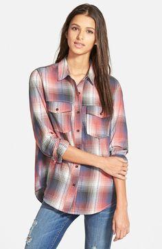 Plaid shirts (Sun+&+Shadow+Plaid+Shirt+(Juniors)+available+at+#Nordstrom)