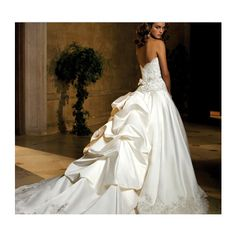 Hot Trends of royal wedding dresses - Empire Wedding Dress - Wedding Dresses and Prom Dresses found on Polyvore featuring dresses, wedding dresses, wedding, gowns and vestidos