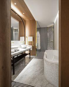 hotel vernet paris salle de bain design chic boutique hotel