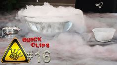 QC#16 - Rewind Dry Ice The monster dry-ice bubble from a previous Quick Clip explodes in reverse.