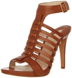 Joan  David Collection Womens Serenia SandalNatural Leather85 M US >>> This is an Amazon Affiliate link. Details can be found by clicking on the image.