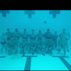 Underwater picture -USMC- Once A Marine, Marine Love, Marines Funny, Marines Girlfriend, Semper Fidelis, Us Marine Corps, Navy Seals, United States Navy, American Soldiers