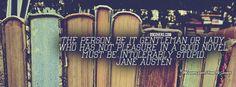 Facebook Cover Photos - Jane Austen Images